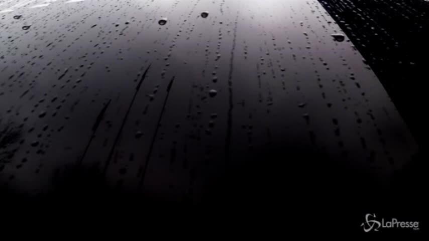 Milan, il viaggio verso Genova sotto la pioggia