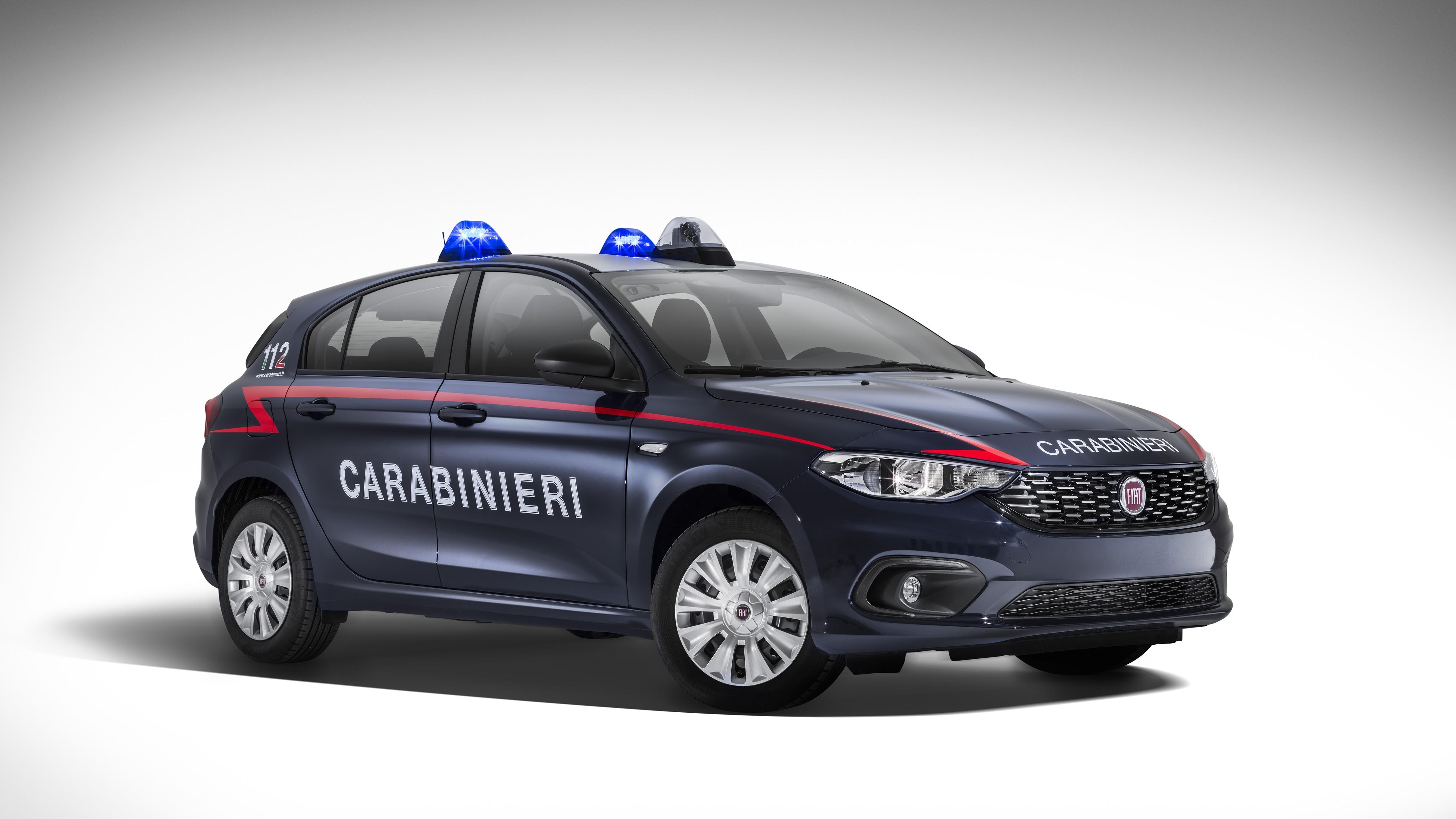 Fca, 500 Fiat Tipo per l'arma dei carabinieri
