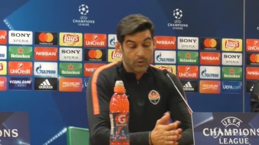 """Roma-Shakhtar, Fonseca: """"Faremo il nostro gioco. Avversario molto forte"""""""