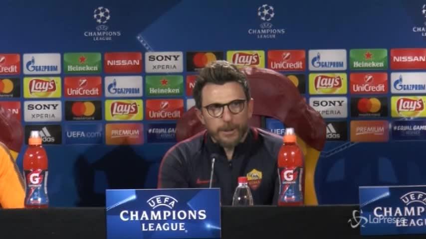 """Roma-Shakhtar, Di Francesco: """"Non possiamo accontentarci"""""""