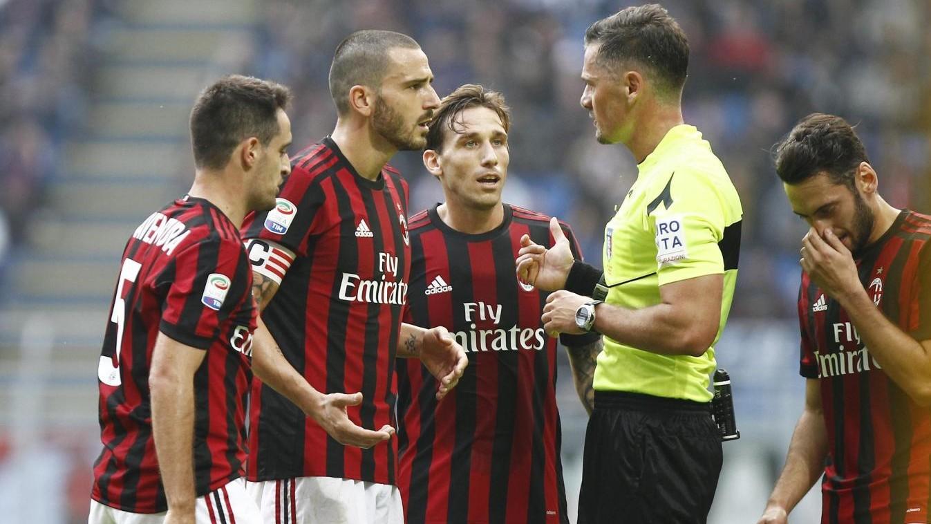 Serie A, il Milan non esce dalla crisi: 0-0 con il Genoa, Bonucci espulso
