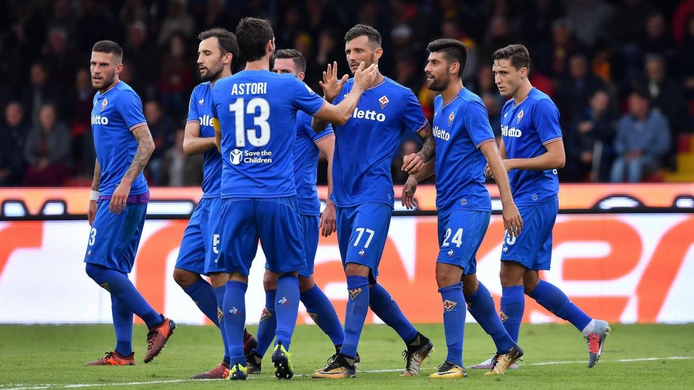 Serie A, Fiorentina corsara a Benevento 3-0: Baroni al capolinea