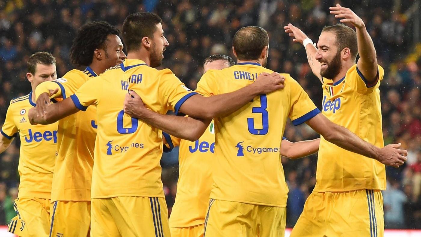 Serie A, Udinese-Juventus 2-6: Khedira-Rugani-Pjanic e tanta rabbia
