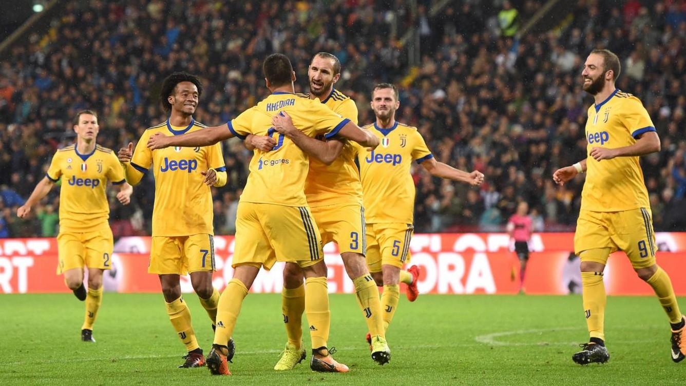 Udinese-Juve, le pagelle: Khedira super, Buffon c'è e Higuain cresce
