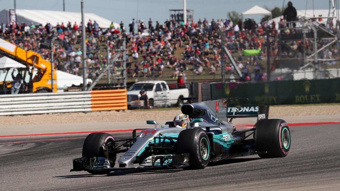 Gp Usa, Hamilton trionfa davanti a Vettel ma la festa è rimandata