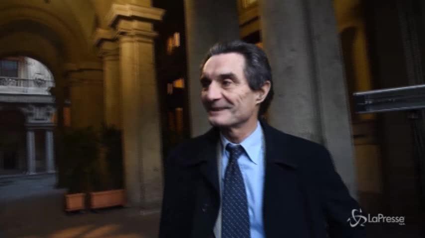 """Fontana: """"Col sindaco di Milano Sala ottimo rapporto"""""""