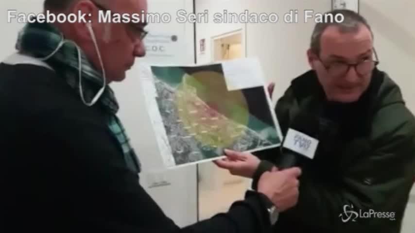 Ritrovato ordigno a Fano: 23 mila evacuati