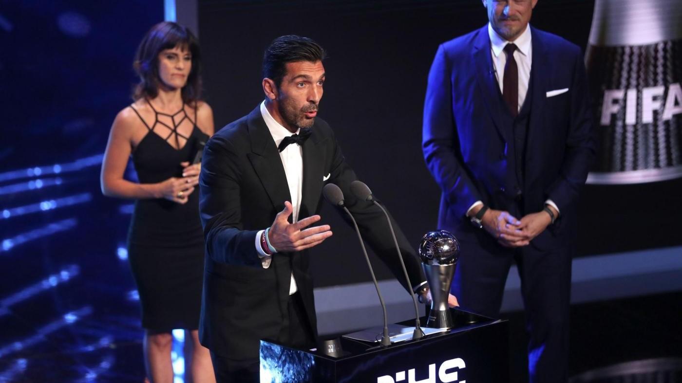 Best Fifa Awards, Buffon miglior portiere 2017