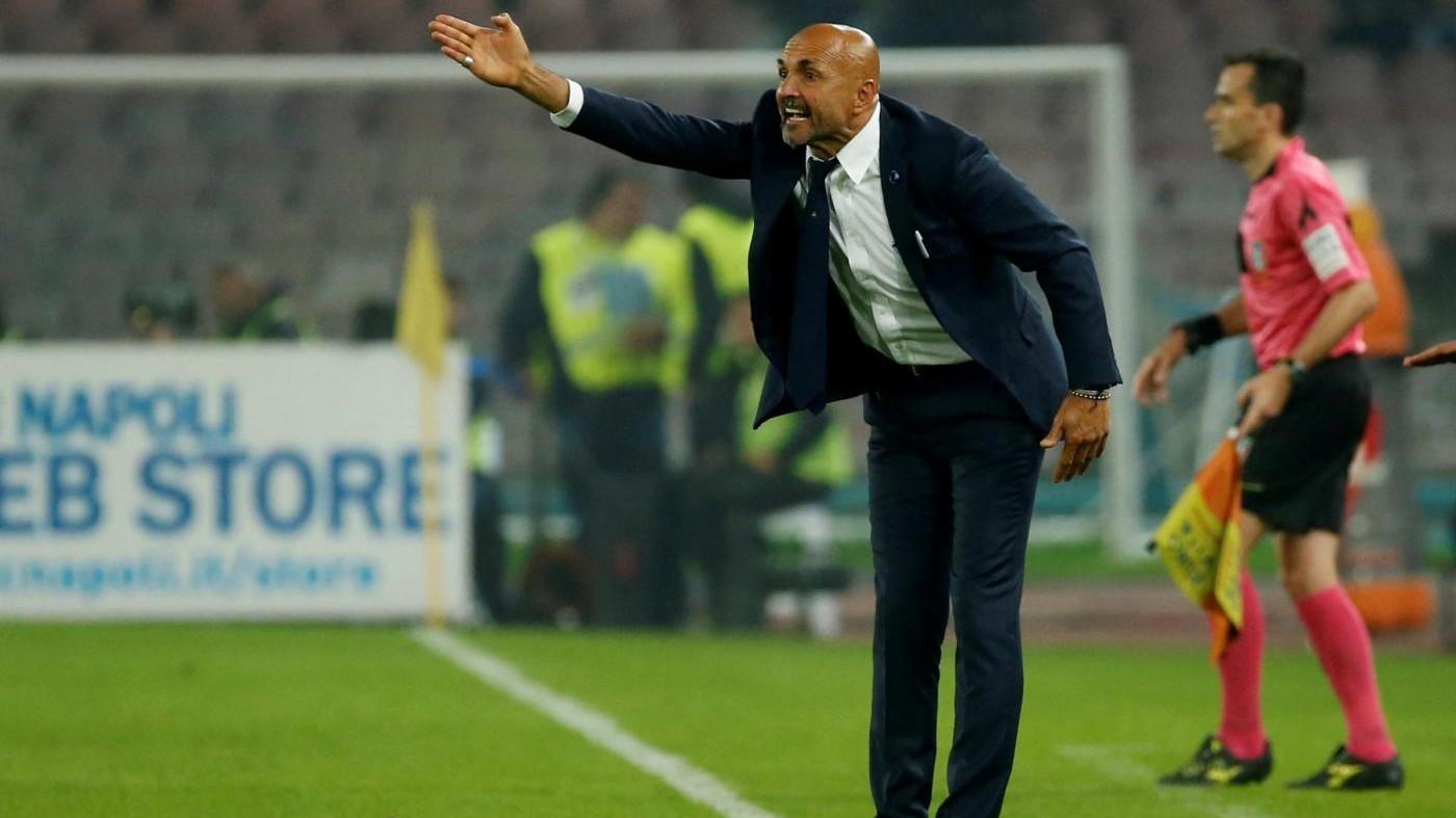 """Calcio, Inter-Samp apre decima giornata. Spalletti: """"Azzerare pari Napoli"""""""