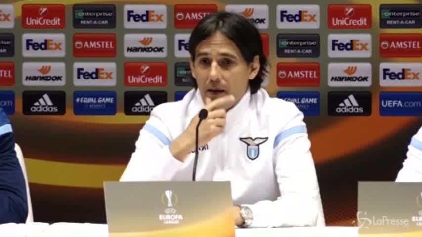 """Europa League, Inzaghi: """"I giocatori hanno lo spirito giusto"""""""
