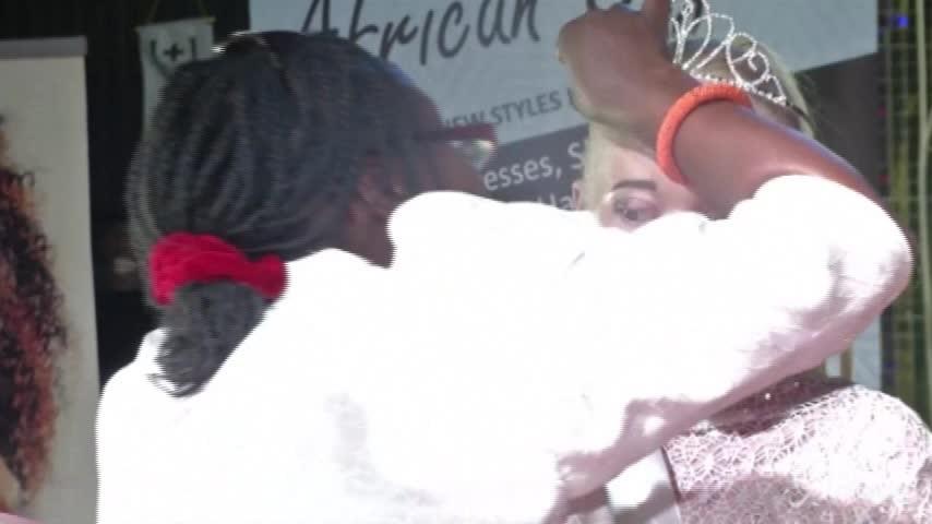 Incoronata in Zimbabwe Miss Albina 2018