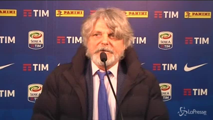 "Sampdoria, Ferrero: ""Icardi sta bene perché ha Wanda che lo stimola"""