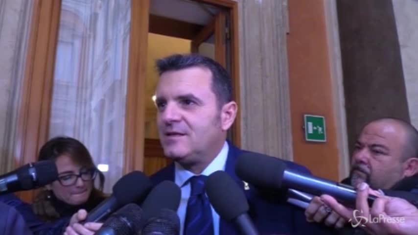 """Governo, Centinaio: """"È cambiato il ruolo di Berlusconi, ora il leader è Salvini"""""""