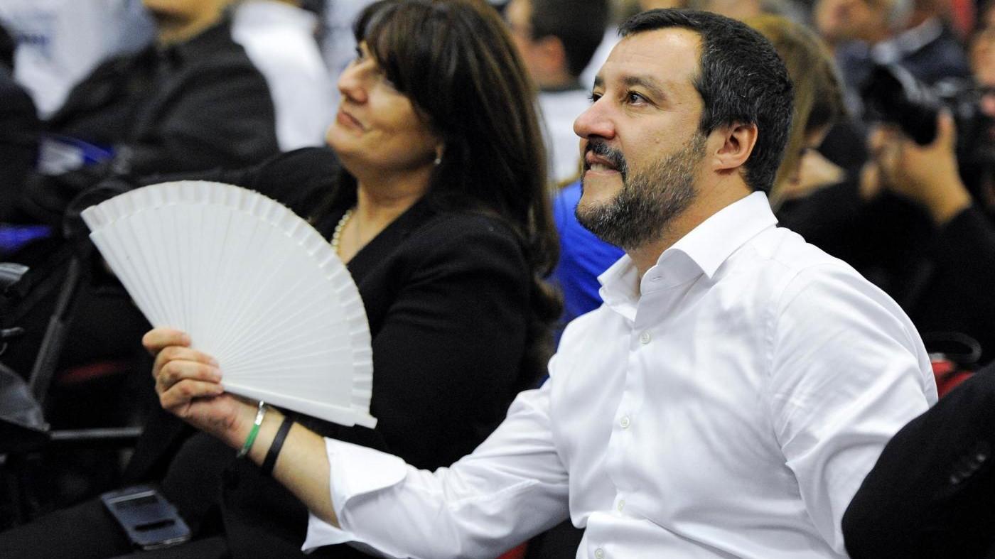 """Salvini: """"Per fare un governo di coalizione chiamerei Grillo"""""""