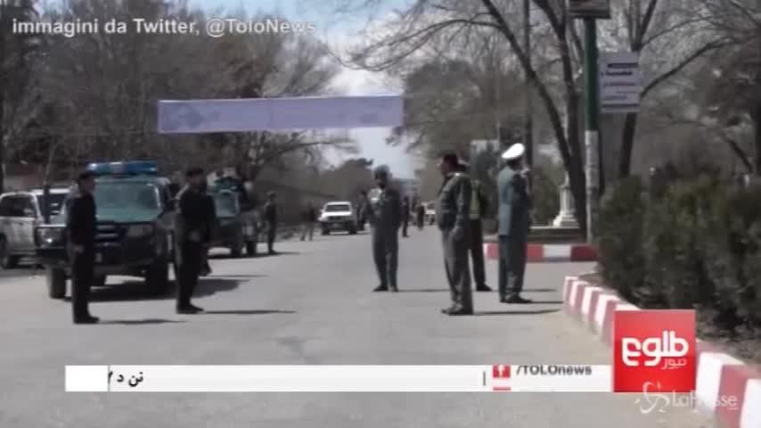 Kabul, il luogo dell'attentato con autobomba vicino all'Università