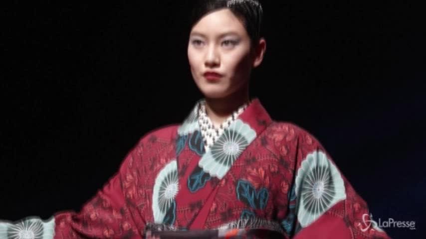 Tokyo Fashion Week: in passerella torna il kimono