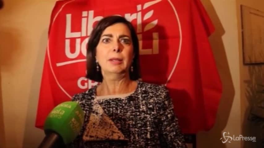 """Boldrini: """"Serve un nuovo soggetto progressista"""""""