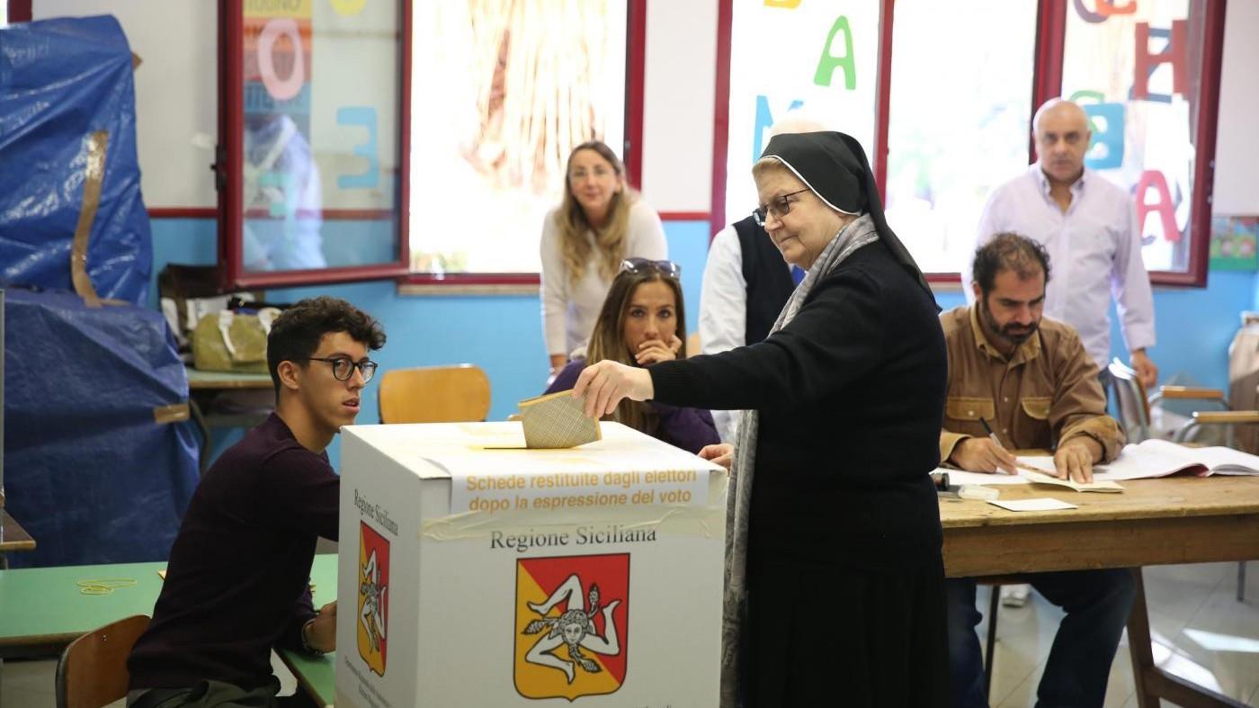 Elezioni regionali in Sicilia. Alle 19 ha votato il 36,39%