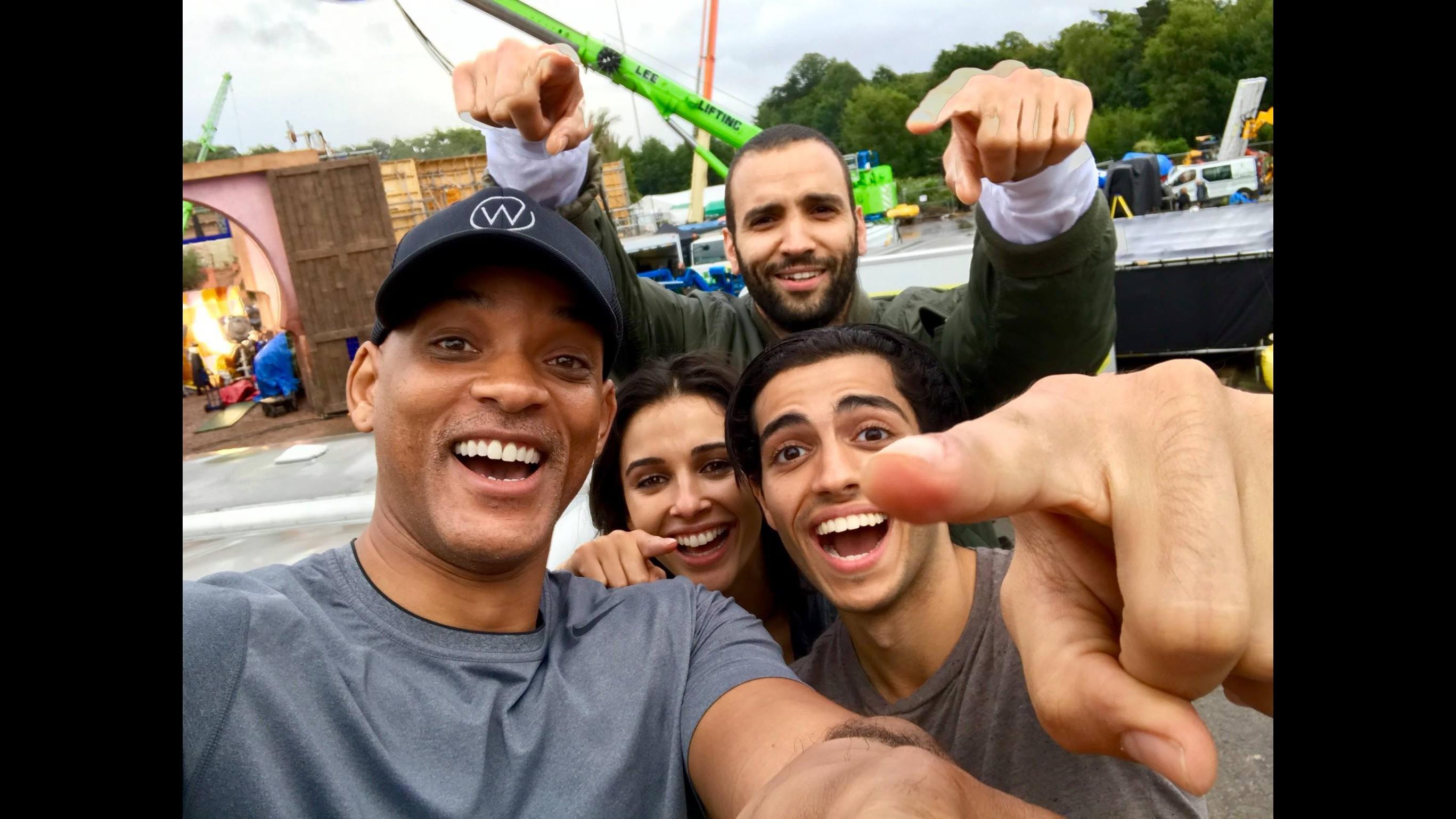 Iniziano le riprese di Aladdin: Will Smith presenta il cast