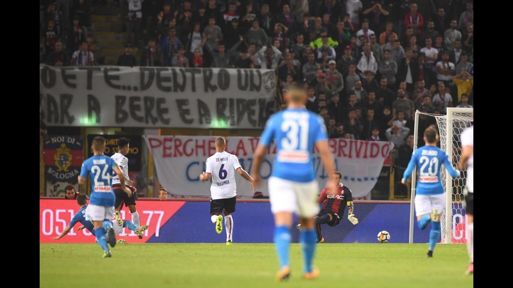 Bologna-Napoli, il fotoracconto della partita: 0-3
