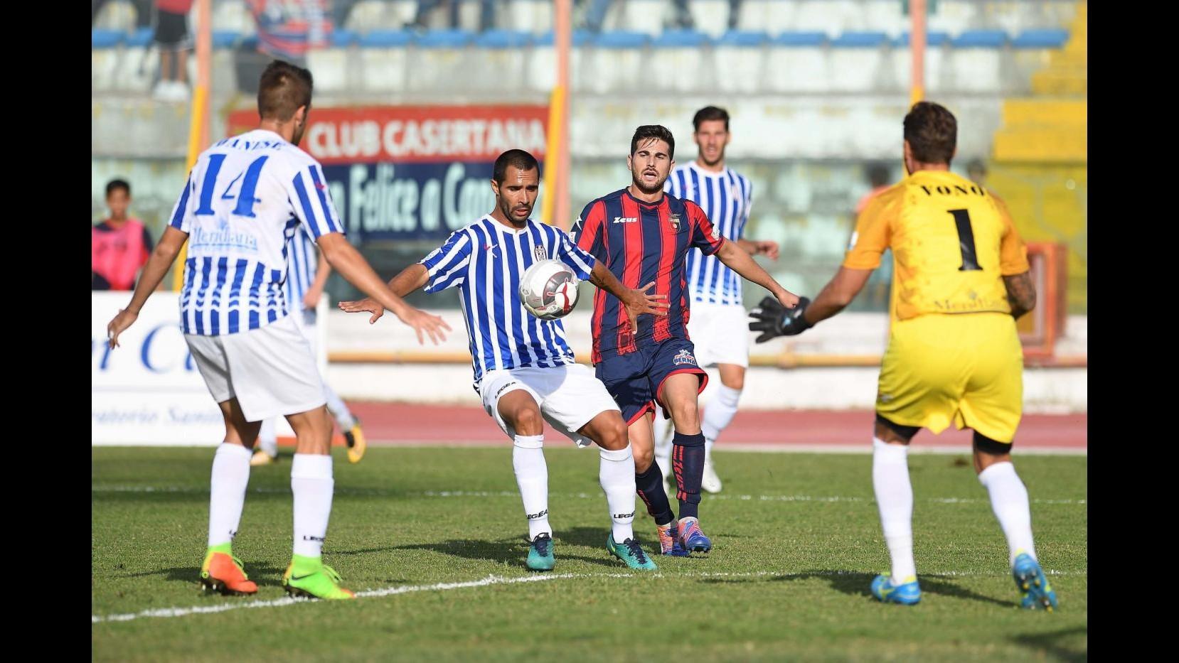 Serie C, Casertana-Akragas 0-1