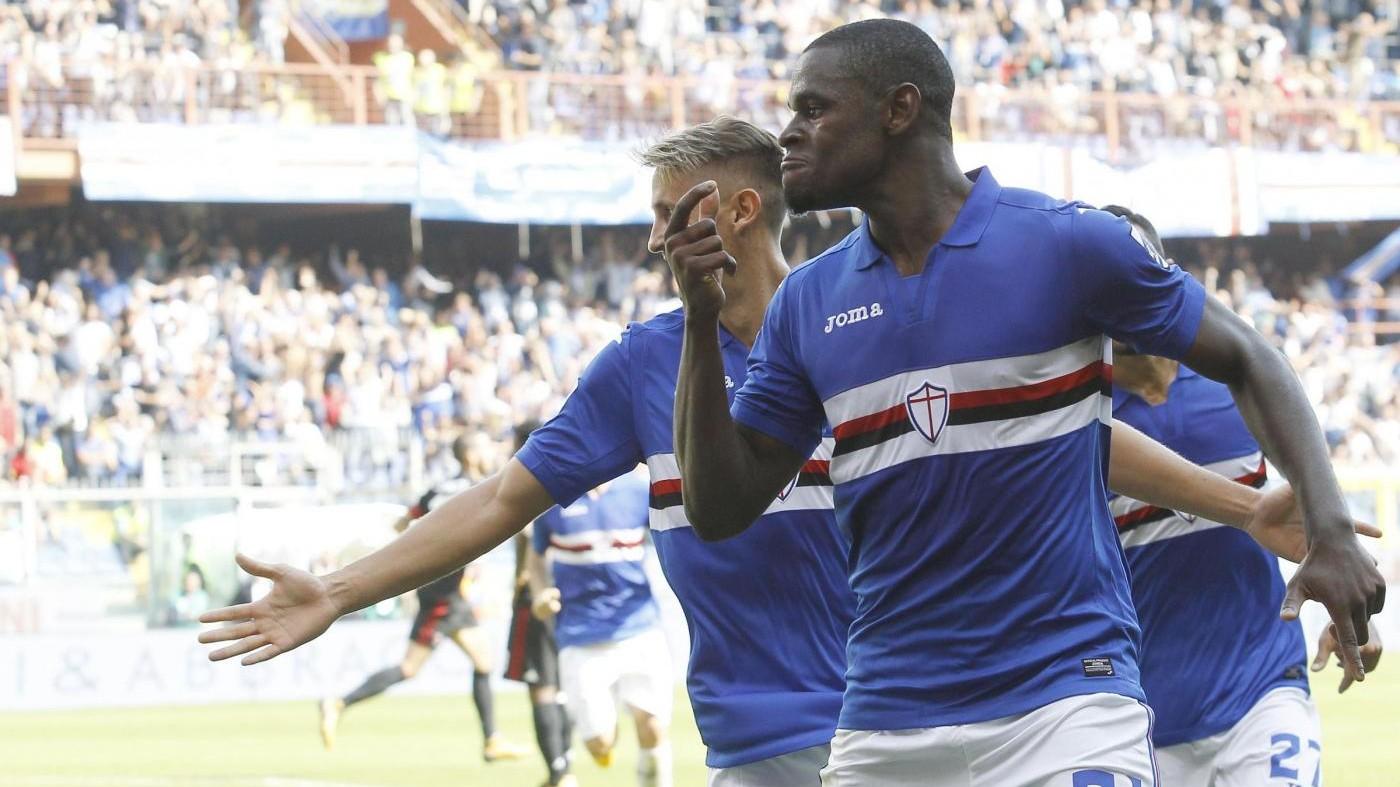 Sampdoria-Milan 2-0: decidono Zapata e Alvarez / Fotoracconto