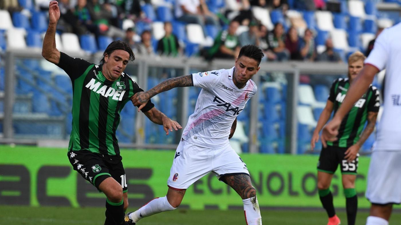 Serie A, Sassuolo-Bologna 0-1 / Il fotoracconto