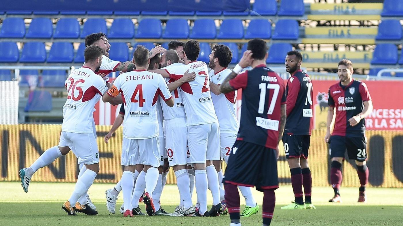 Coppa Italia, facile per la Samp. Impresa del Pordenone a Cagliari