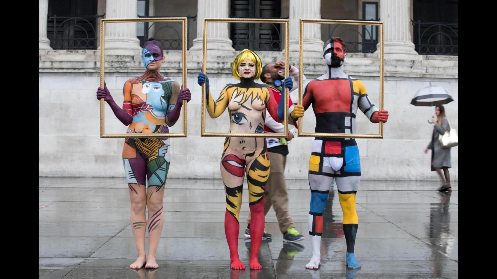 Da Van Gogh a Picasso: i quadri diventano umani e passeggiano a Londra