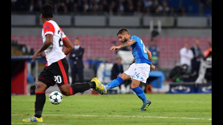 Champions League, Napoli-Feyenoord 3-1: il fotoracconto