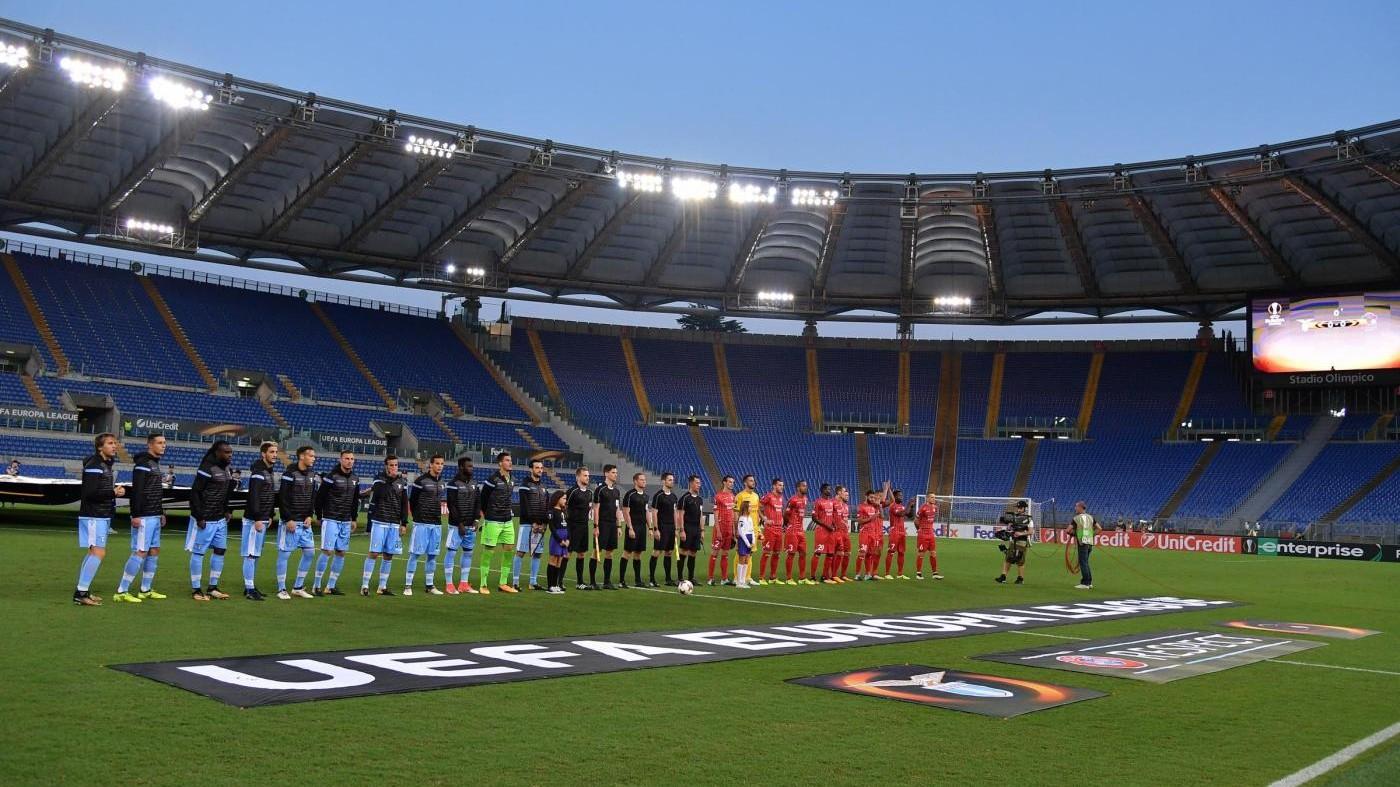Europa League, Lazio-Zulte 2-0: Immobile chiude / Il Fotoracconto