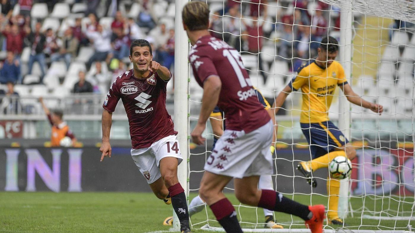 Torino-Verona 2-2. IL FOTORACCONTO
