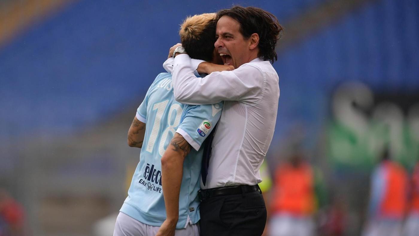 Serie A, Lazio-Sassuolo 6-1 / Fotoracconto