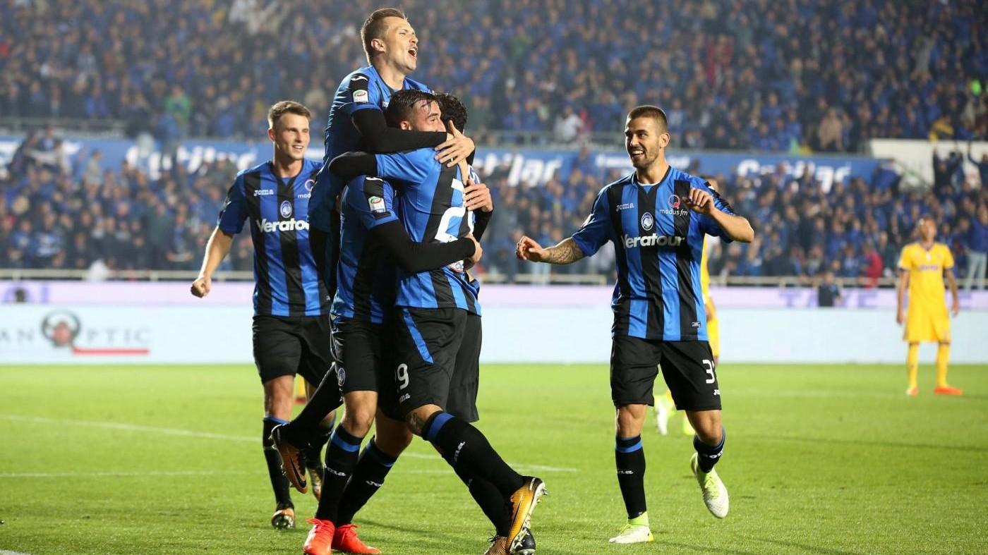 Serie A, l'Atalanta ferma la Juve: 2-2 a Bergamo / Il fotoracconto