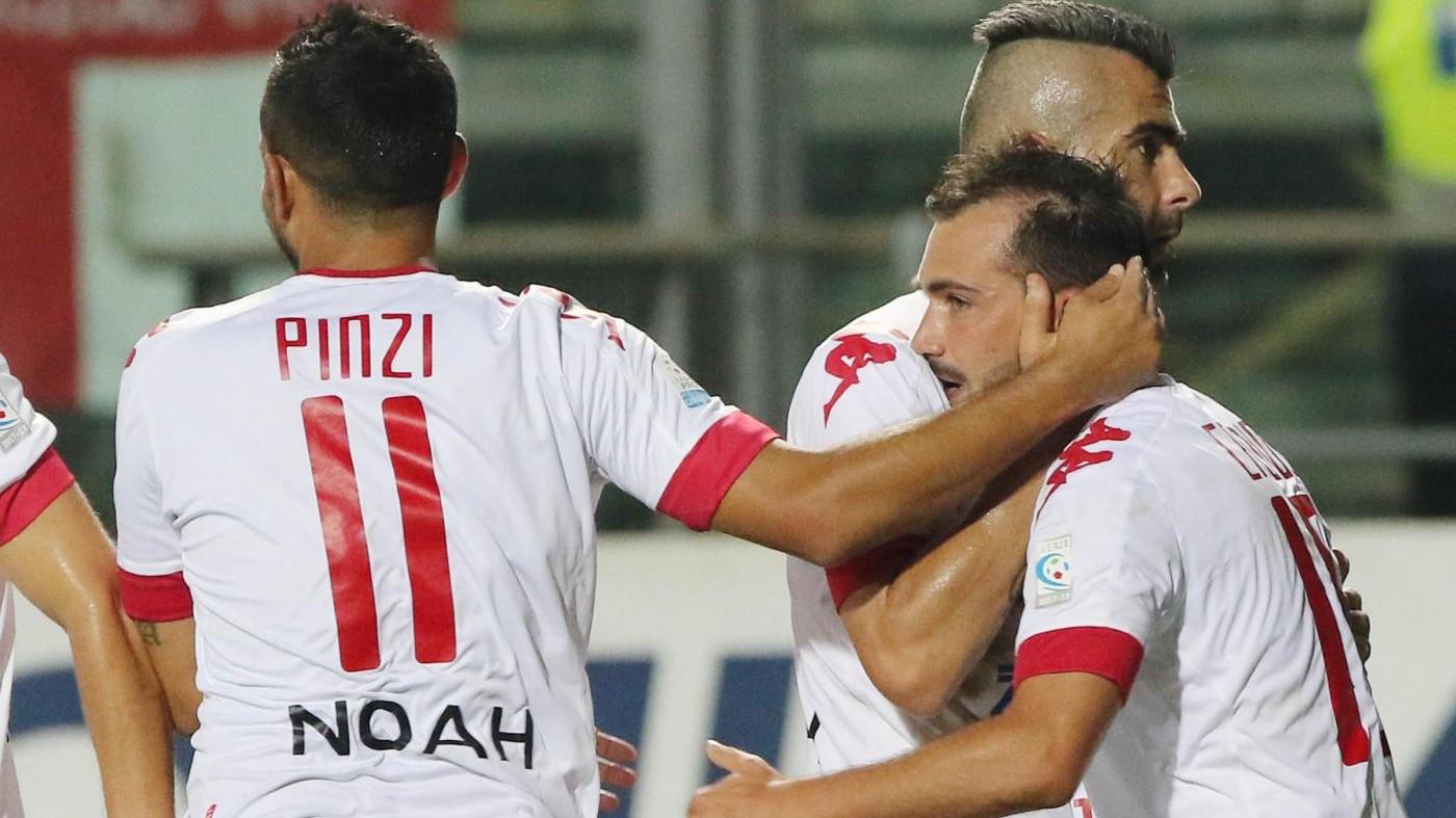 Serie C, Padova-Santarcangelo 3-0