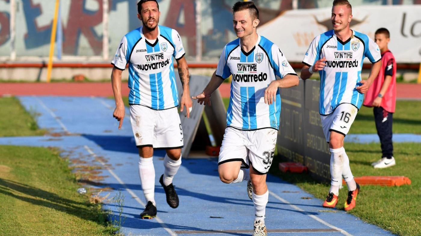 Serie C, Casertana F.C-Virtus Francavilla 0-2