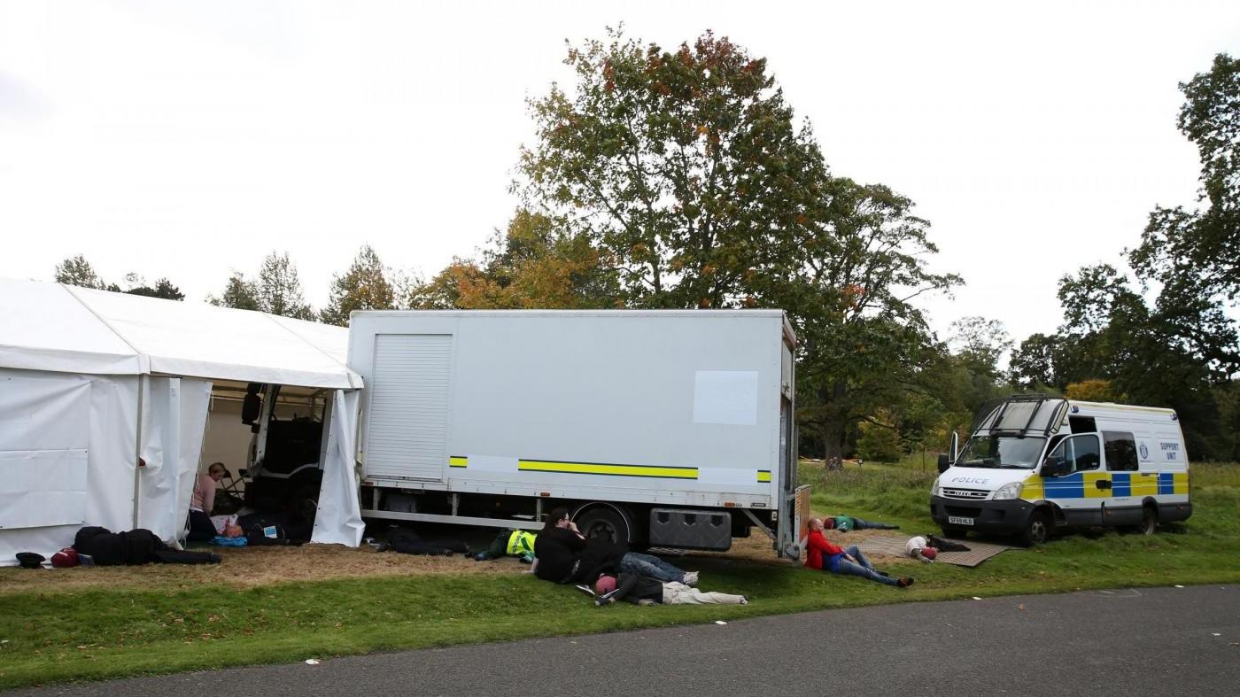 Edimburgo, l'attentato col camion è solo un'esercitazione