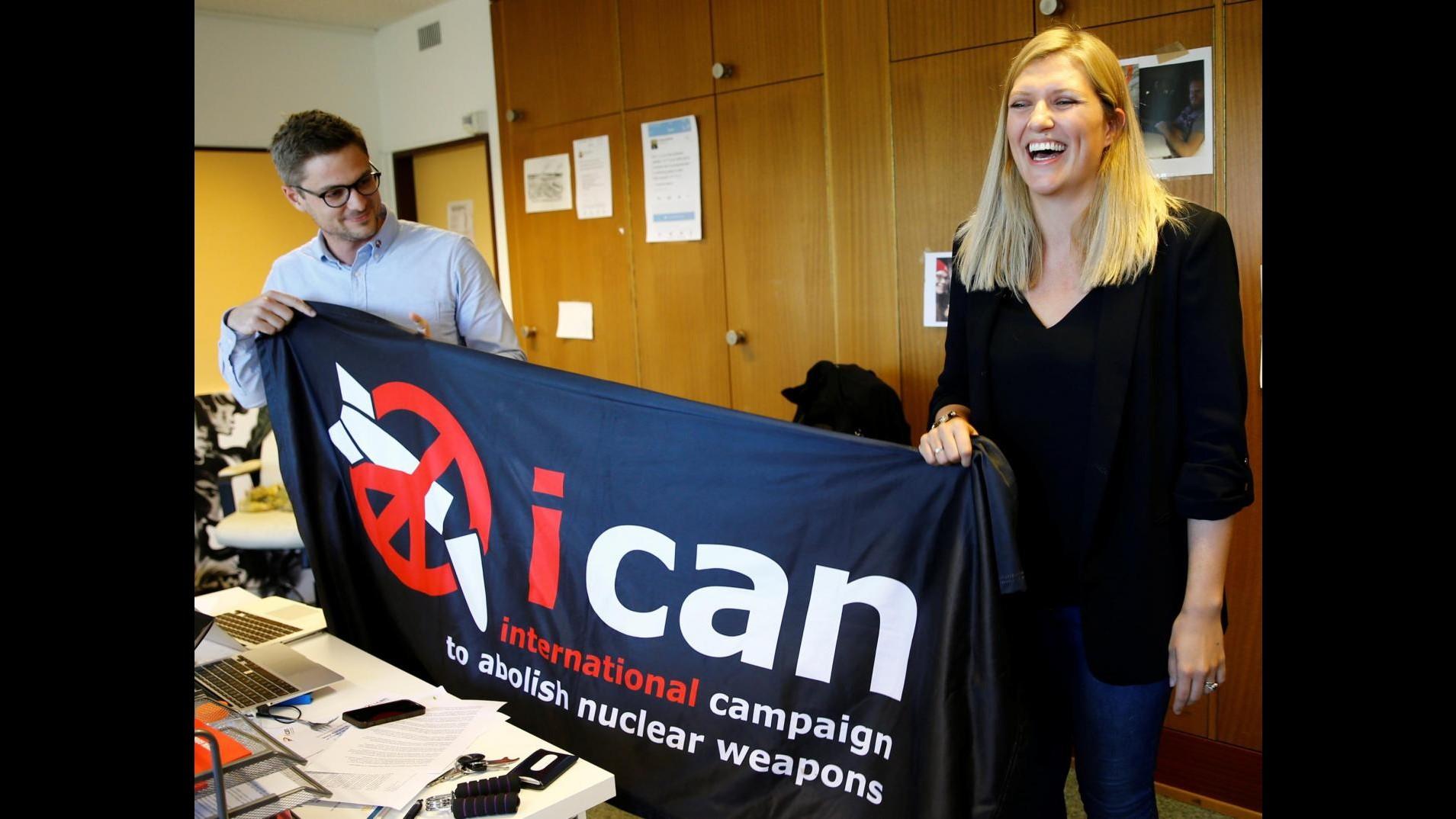 Nobel per la pace, cos'è Ican