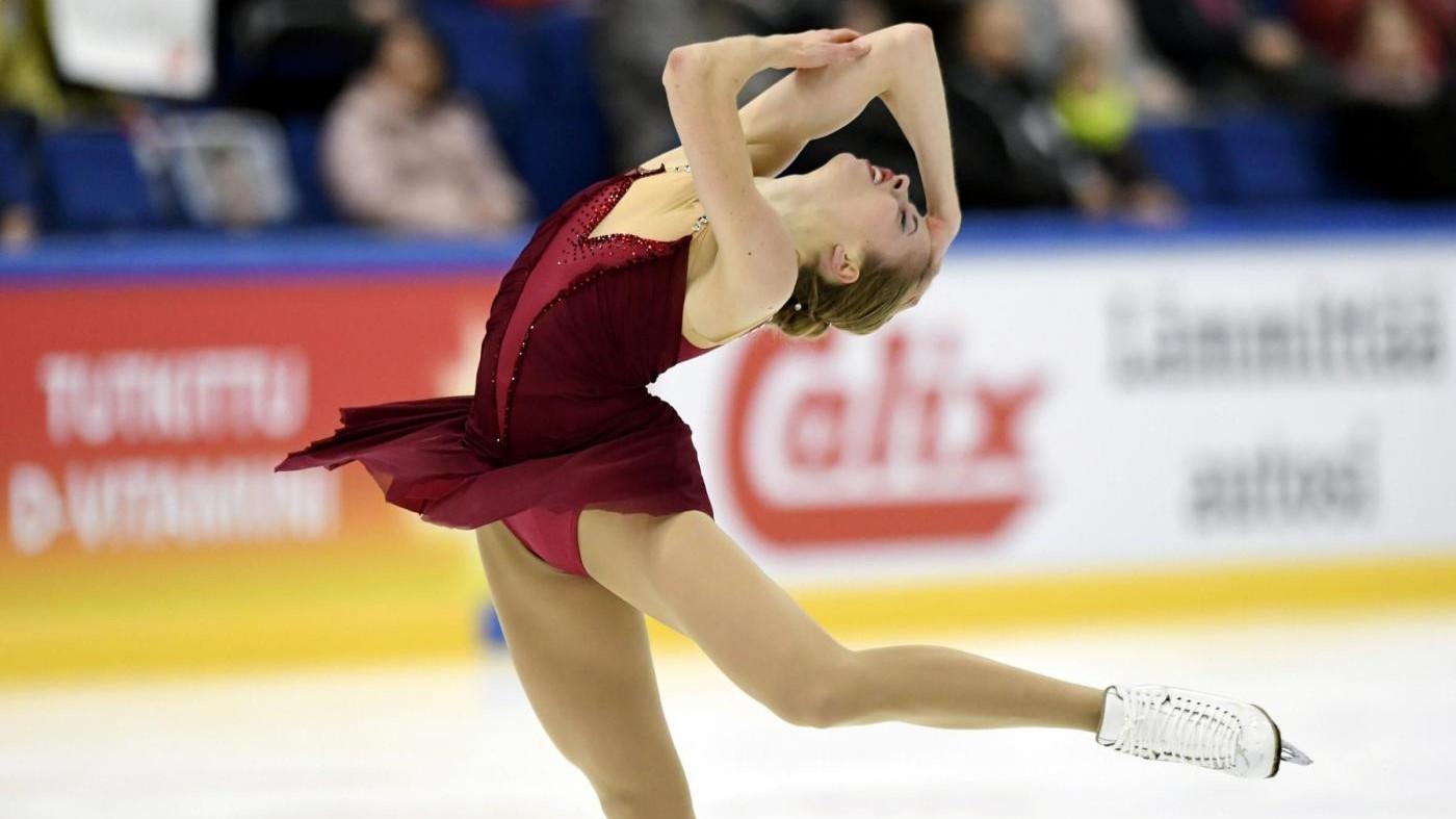 Finlandia Trophy 2017, il pattinaggio di  figura di Carolina Kostner