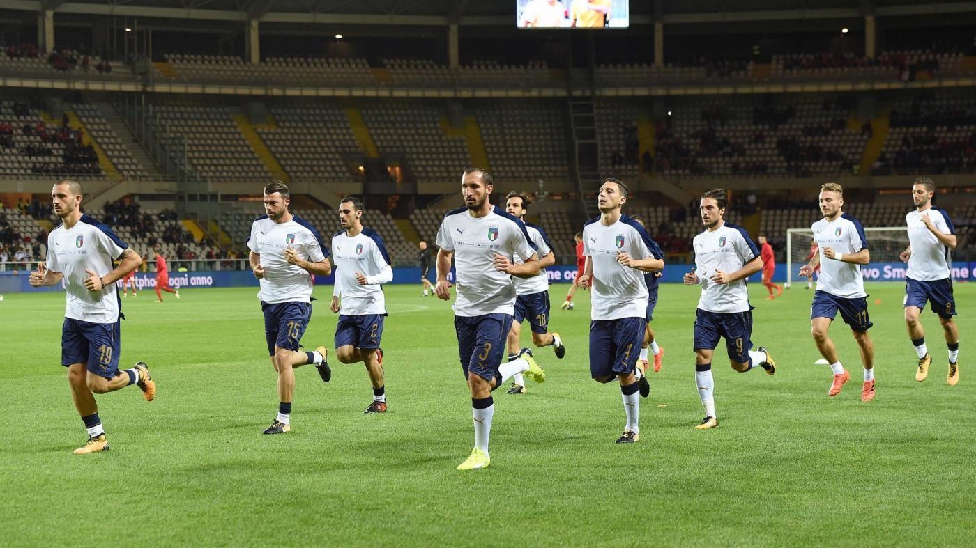 Male l'Italia, 1-1 con la Macedonia: il fotoracconto