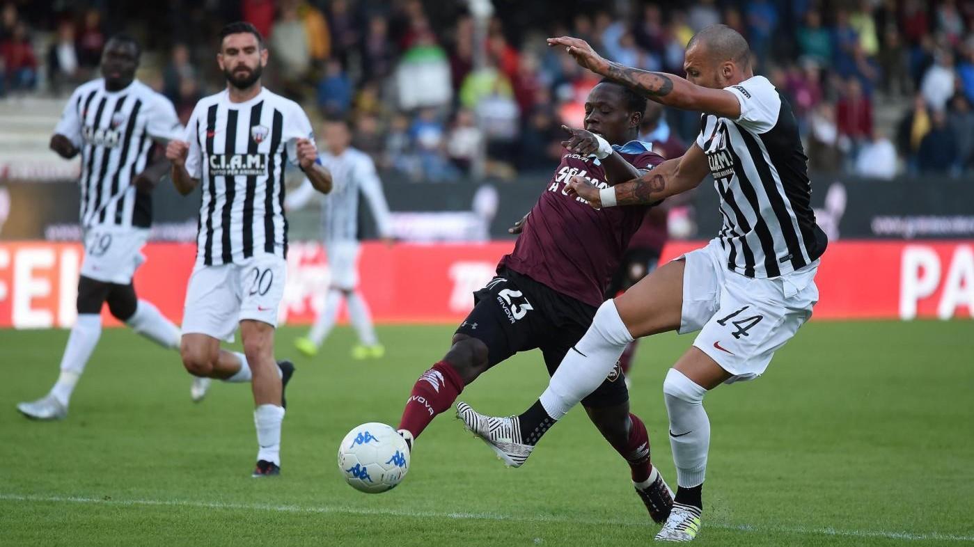 Serie B, reti inviolate tra Salernitana e Ascoli