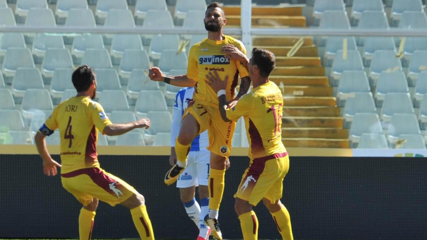 Serie B, Pescara ko in casa: Cittadella vince 2-1