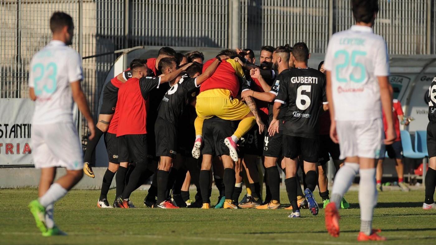 Serie C, Olbia – Robur Siena 1-2