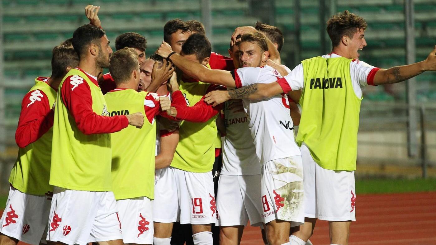 Serie C, Padova – SudTirol 3 -1