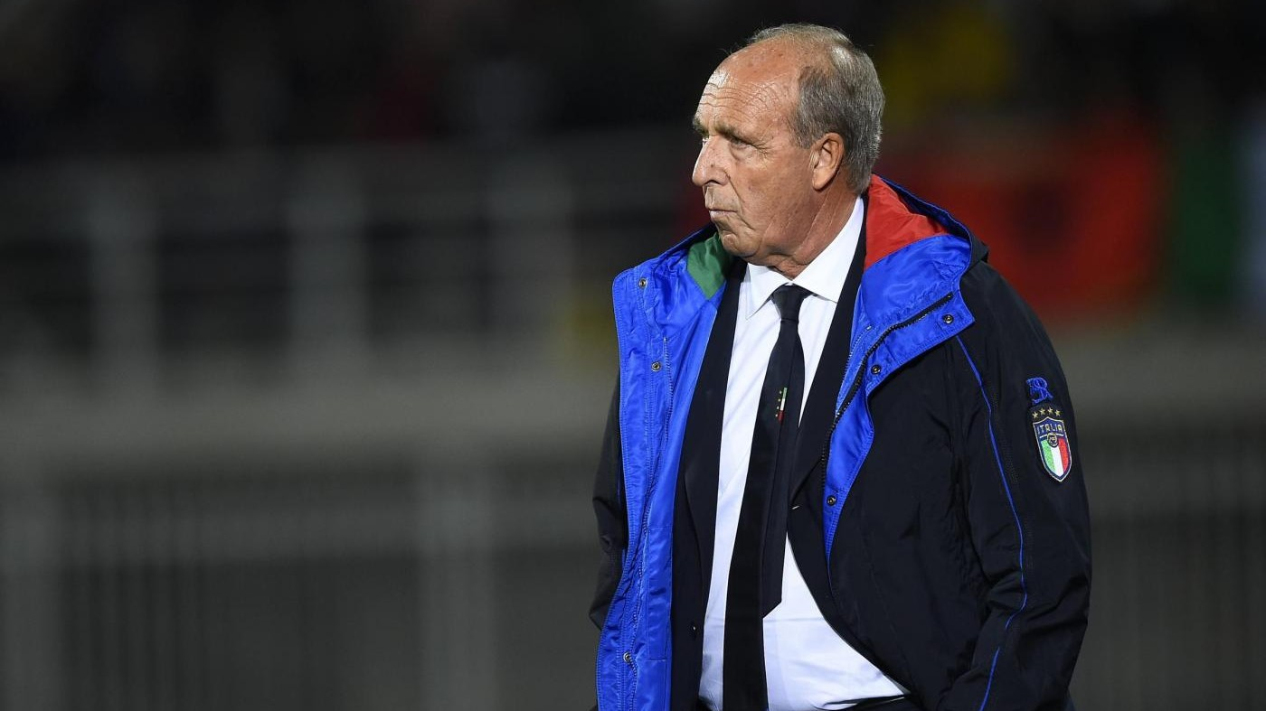 Italia supera Albania: decide Candreva / Il Fotoracconto