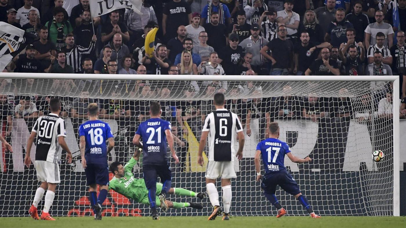 Serie A, Juve-Lazio 1-2: gol di Costa, ma Immobile raddoppia / Fotoracconto