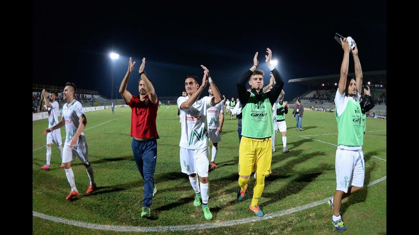 Serie C, Casertana-Monopoli 0-3