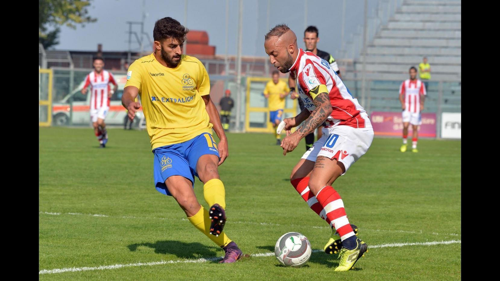 Serie C, Fermana-Vicenza 0-0