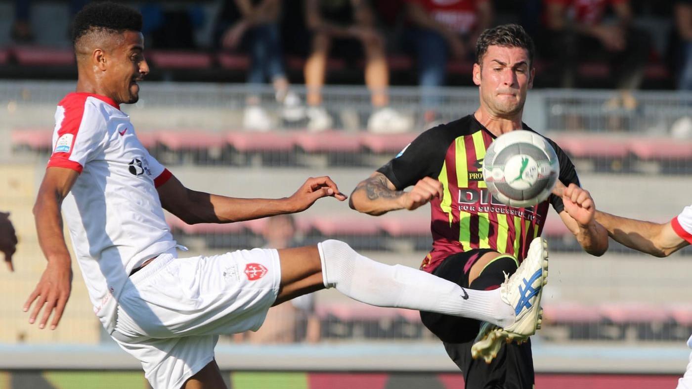 Serie C, Bassano-Triestina 1-1