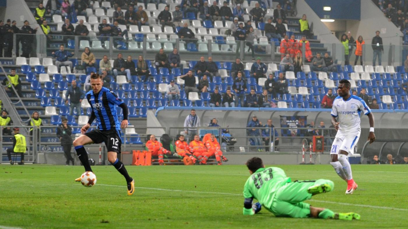 Europa League, Atalanta-Apollon 3-1   Il fotoracconto